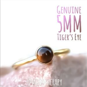 14KYGF Tigers Eye Stacking/Stackable Ring